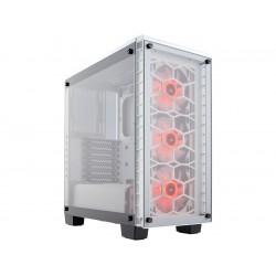 Corsair Crystal 460X RGB White CC-9011129-WW White Steel / Tempered Glass ATX Mid Tower Computer Case
