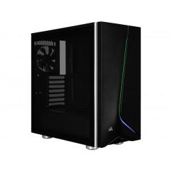Corsair Carbide Series SPEC-06 RGB CC-9011146-WW Black Steel / Plastic / Tempered Glass ATX Mid Tower Computer Case