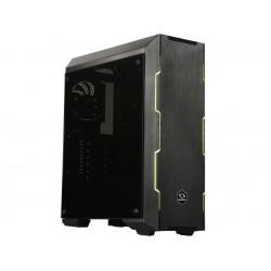 RAIDMAX ATTILA T25-FTB Black Steel / Plastic / Tempered Glass ATX Mid Tower Computer Case + PSU 550W
