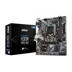 MSI PRO H310M PRO-M2 LGA 1151 (300 Series) Intel H310 SATA 6Gb/s Micro ATX Intel Motherboard