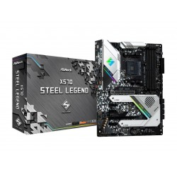 ASRock X570 STEEL LEGEND AM4 AMD X570 SATA 6Gb/s ATX AMD Motherboard