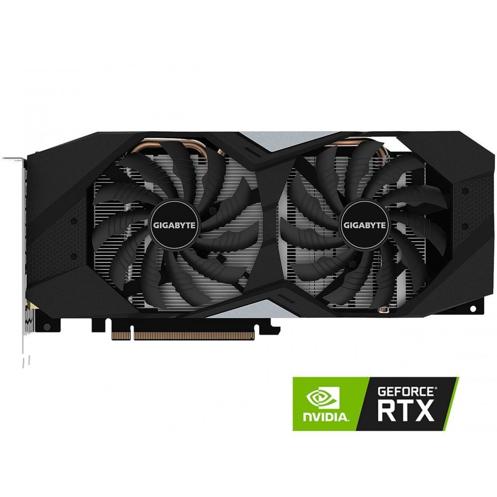 GIGABYTE GeForce RTX 2060 WINDFORCE OC 6G Graphics Card, 2 x WINDFORCE Fans, 6GB 192-Bit GDDR6, GV-N2060WF2OC-6GD Video Card