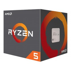 AMD RYZEN 5 2600 6-Core 3.4GHz (3.9GHz Turbo) Socket AM4 65W Desktop Processor