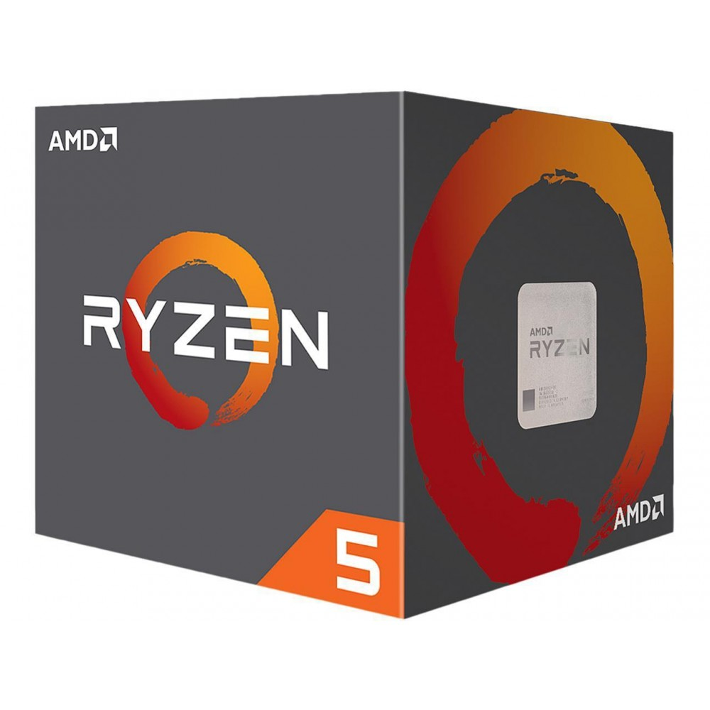 AMD RYZEN 5 2600X 6-Core 3.6 GHz (4.2 GHz Max Boost) Socket AM4 95W Desktop Processor