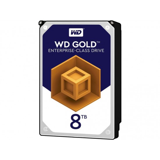 WD Gold 8TB Enterprise Class Hard Disk Drive - 7200 RPM Class SATA 6Gb/s 256MB Cache 3.5 Inch