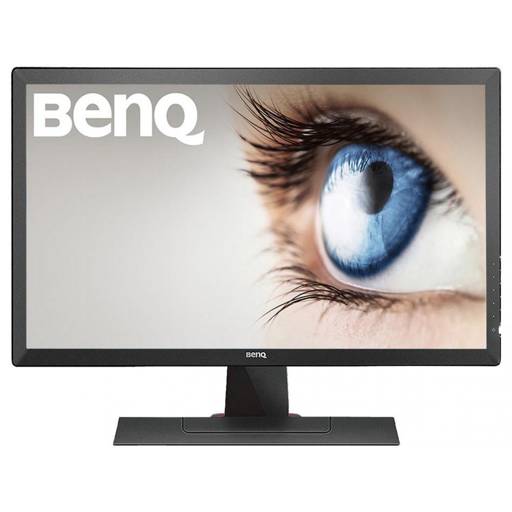 """BenQ RL Series RL2455S Black 24"""" 1ms (GtG) HDMI LCD/LED Monitor 250 cd/m2 1000:1 (Typ. contrast) 12M:1 (Typ. DCR (DyNamic Contrast Ratio))"""