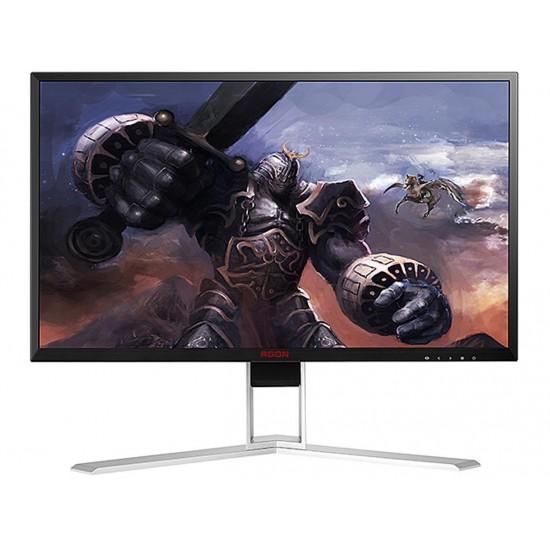 "AOC AGON AG271QG 27"" Gaming Monitor, QHD 2560x1440 IPS panel, G-SYNC, 165Hz, 4ms, Height Adjustable, DisplayPort/HDMI, USB 3.0 hub, VESA"