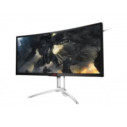 AOC Agon AG352UCG6 35in Curved Gaming Monitor, 1800R, UWQHD 3440x1440 VA Panel, G-SYNC, 120Hz, 4ms, DisplayPort/HDMI