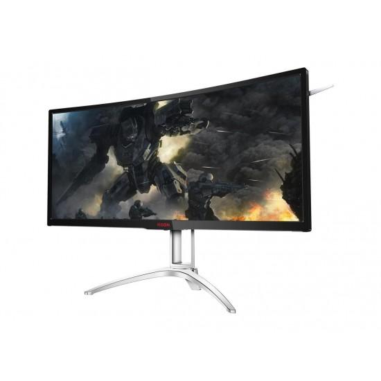 AOC Agon AG352UCG6 35in Curved Gaming Monitor, 1800R, UWQHD 3440x1440 VA Panel, G-SYNC, 120Hz, 4ms, DisplayPort/HDMI