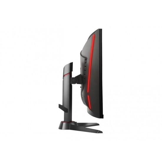"MSI Optix MAG27CQ Metallic Dark Gray - Red 27"" 1ms (MPRT) HDMI Widescreen LED Backlight 2K 2560 x 1440 DVI & HDMI & DP Gaming Monitor 250 cd/m2 3000:1"