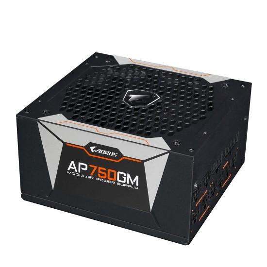 AORUS P750W 750 Watt 80+ GOLD Fully Modular PSU/Power Supply