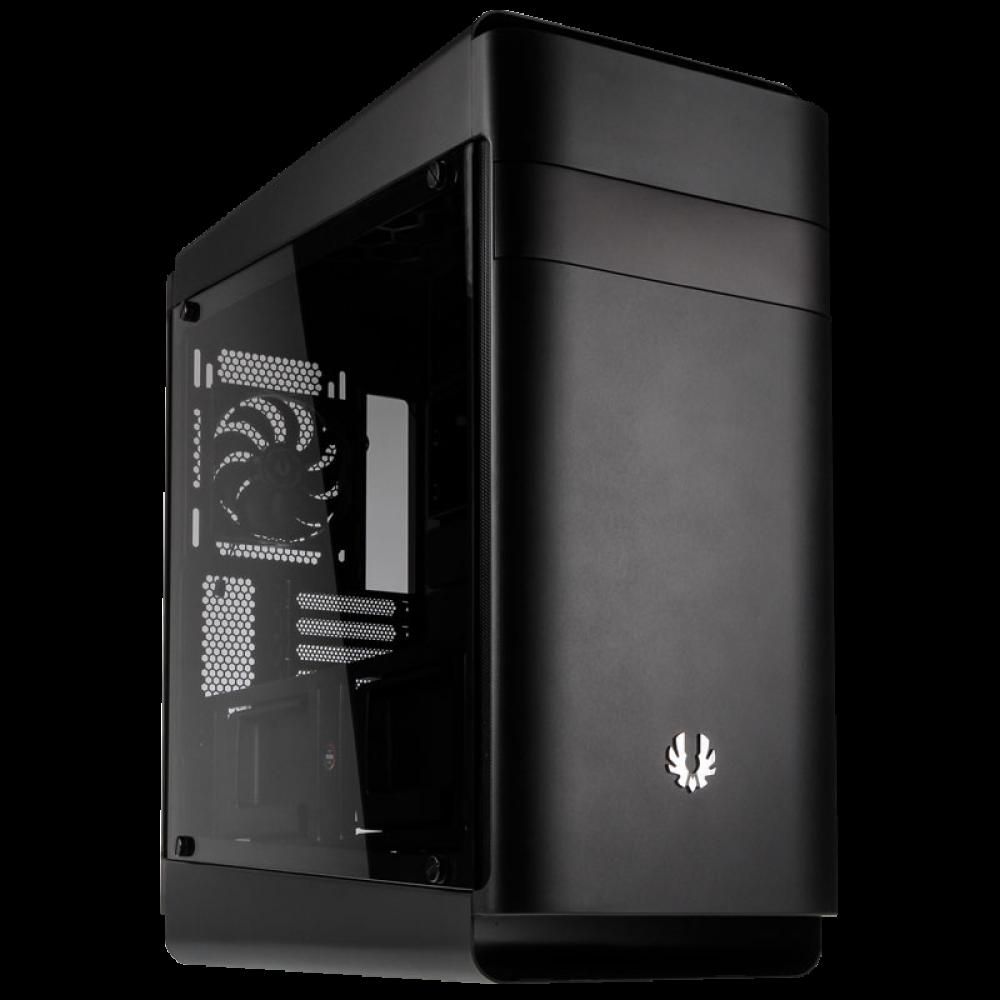 BitFenix Shogun E-ATX Dual Tempered Glass Mid Tower Case (Black)