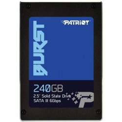 "Patriot Burst 2.5"" 240GB SATA III Internal Solid State Drive (SSD) PBU240GS25SSDR"
