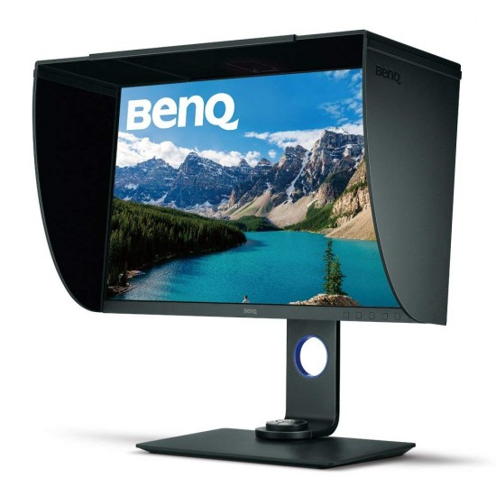 BenQ SW271 27 inch 4K Adobe RGB Color Management Photographer Monitor UHD 3840 x 2160 (4K), 5ms, HDMI, DisplayPort, USB-C