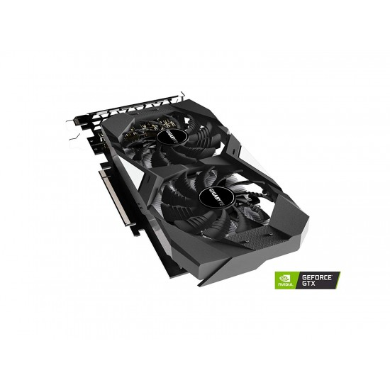 GIGABYTE GeForce GTX 1650 WINDFORCE OC 4G Graphics Card, 2 x WINDFORCE Fans, 4GB 128-Bit GDDR5, GV-N1650WF2OC-4GD Video Card