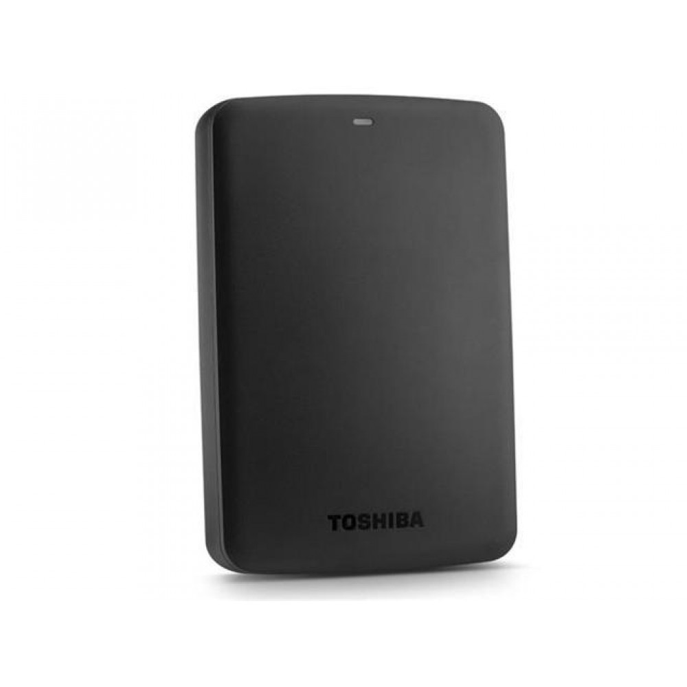 Toshiba Canvio Basics 3TB Portable External HDD (Black)