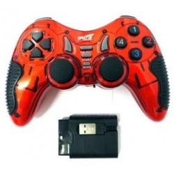 Extra EX-WL2021PUP 5 In 1 Wireless Gamepad - Red and Black