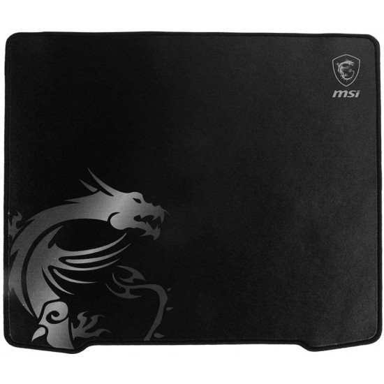 MSI Agility GD30 Ultra-Smooth Low-Friction Textile Surface Natural Rubber Base Extra Soft Comfortable Touch Anti-Slip Gaming Mouse Pad